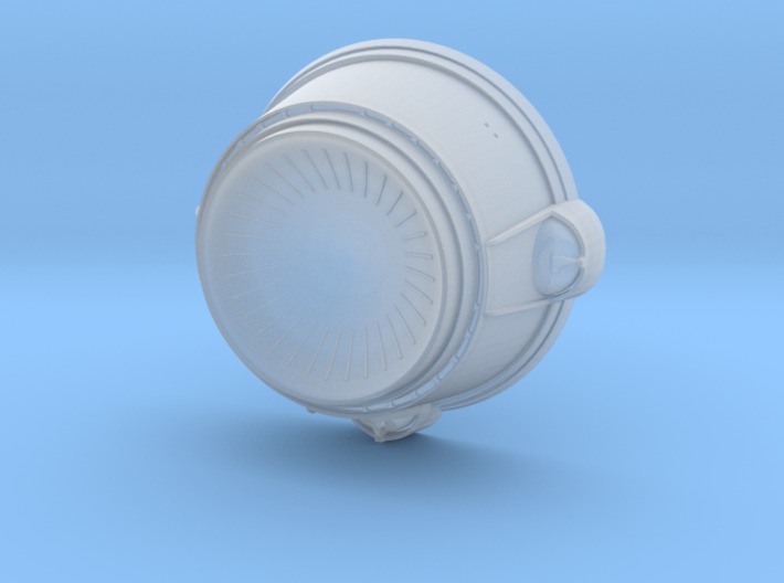 1/537 TMP Deflector Dish 3d printed