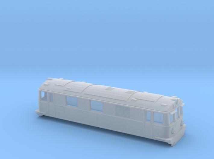Swedish SJ electric locomotive type Dk2 - N-scale 3d printed