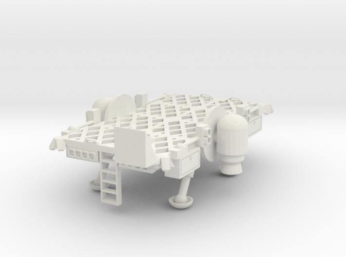 Lunar Flatbed 3d printed