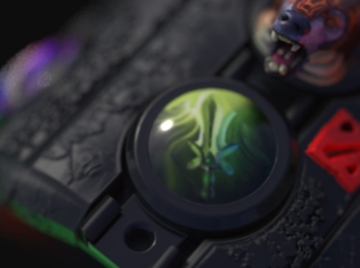 Dota2 Butterfly Orb (Requires DOTA2 Bracelet) 3d printed