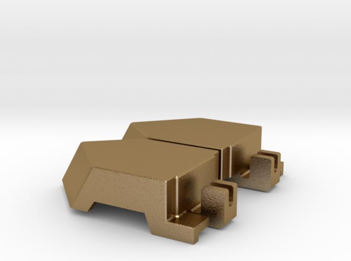 Doom Whisperer's = Golden = Knee Caps 3d printed