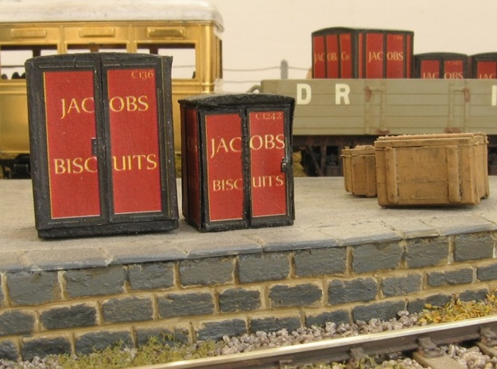 4mm Scale Jacob's Containers 3d printed