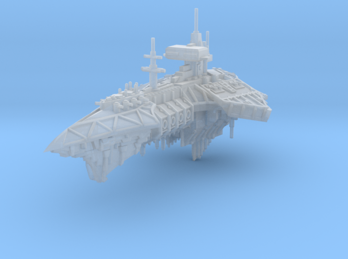 Diabolist Light Cruiser 3d printed