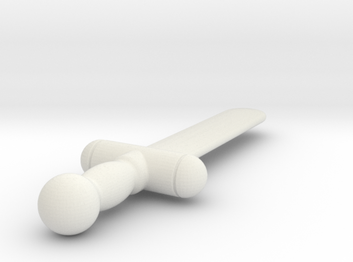 Test Sword (#3) 3d printed