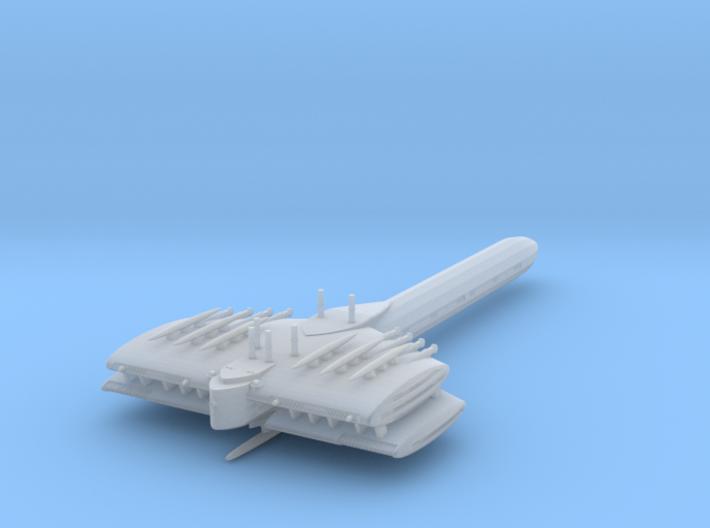 Last Exile. Turan Battleship 3d printed