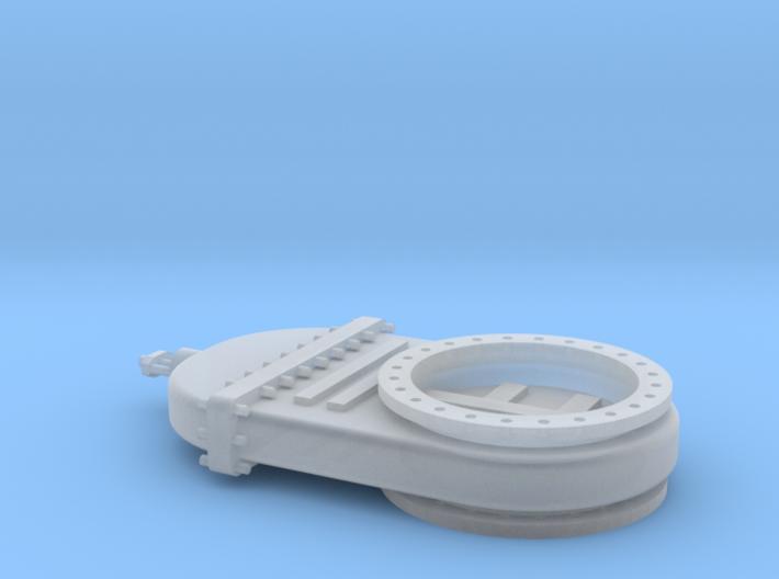Absperrschieber 1200mm - TT 1:120 3d printed
