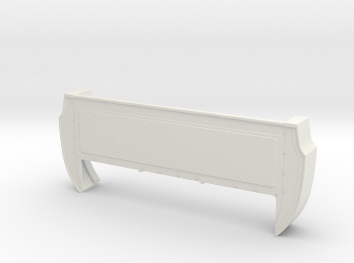 Bed Extension -12.3 In. Wheelbase for RC4WD Blazer 3d printed