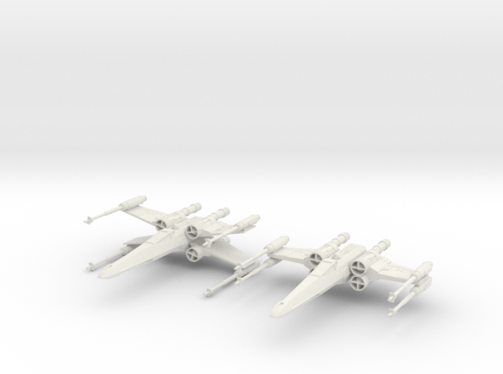 T-65 X-Wing Starfighter 3d printed