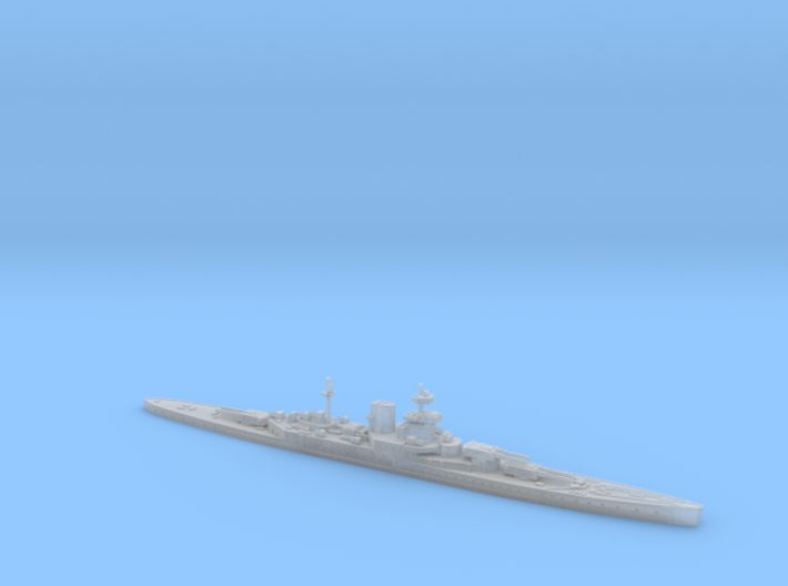 HMS Incomparable 1/3000 3d printed