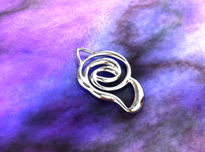 Achieve unity 3d printed silver material