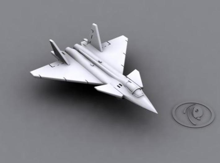 1/700 Mikoyan Project 1.44 (x6) 3d printed Computer software render