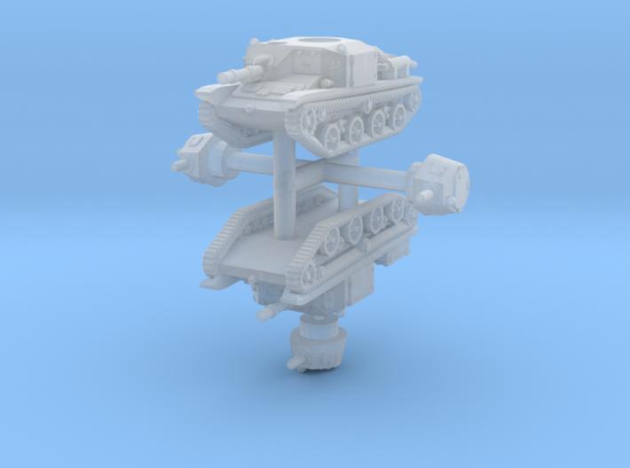 1/285 (6mm) Type 92 Jyu-Sokosha (x2) 3d printed