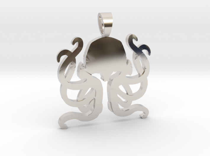 Cthulhu [pendant] 3d printed