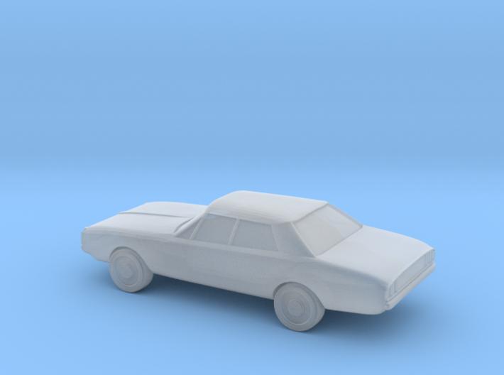 1/87 Chrysler Valiant VH 4 Door Sedan 3d printed