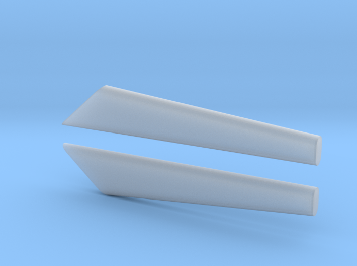 Speedway Style Dual Exhaust 3d printed