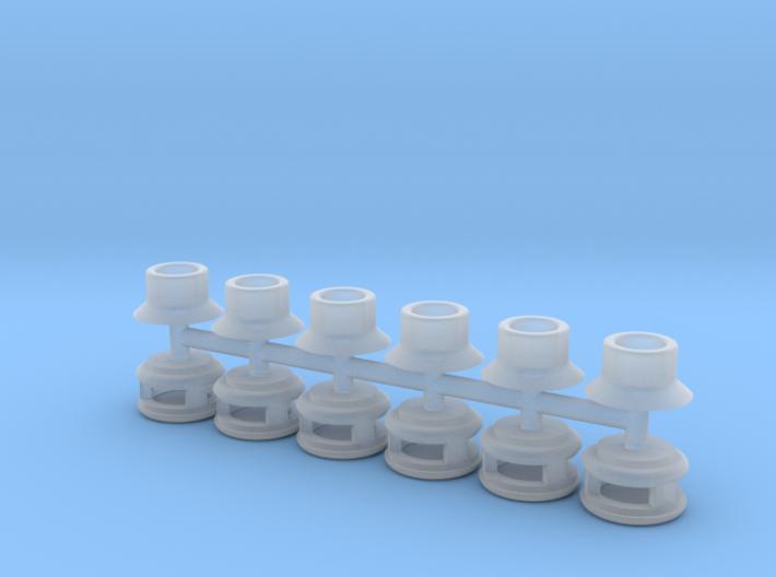 Steam Generator Vents (N - 1:160) 6X 3d printed