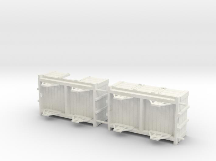 Ravenglass and Eskdale 0-12 Narrow Gauge wagon/coa 3d printed