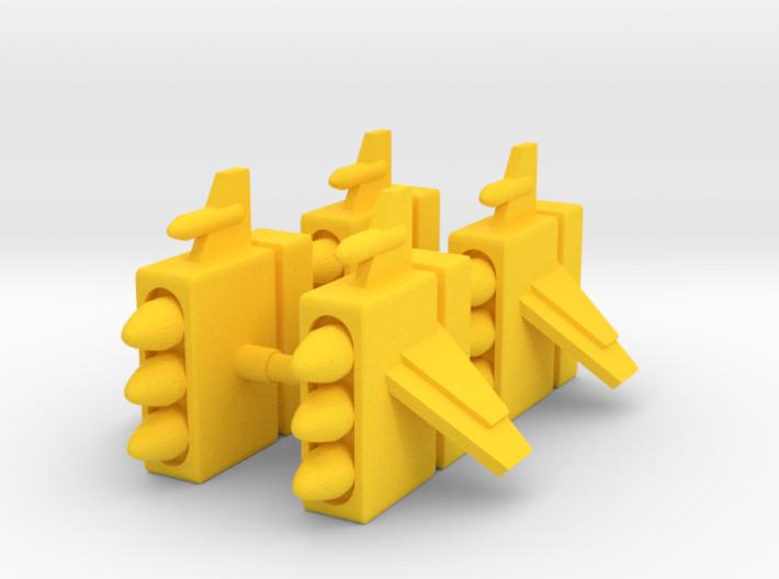 Centaurus Missile Pods 3d printed