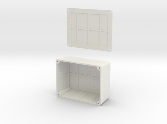 Hammond box 1550C - ESB Vader Belt Box 3d printed