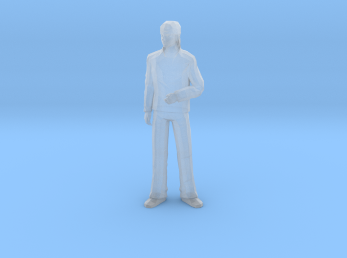 S Scale standing man 2 3d printed This is a render not a picture