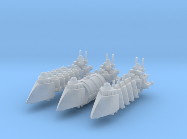 Privateer Transports (3) 3d printed