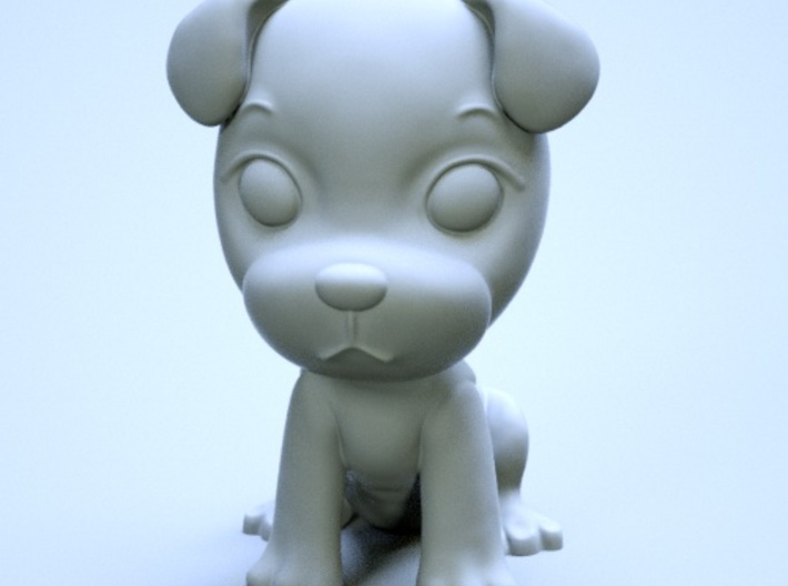 puppy 01 3d printed