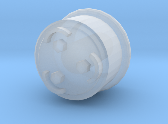 Roller Bearing for Aristocraft 3d printed Roller Bearing Caps
