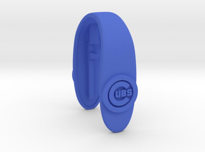 CUBS key fob 3d printed