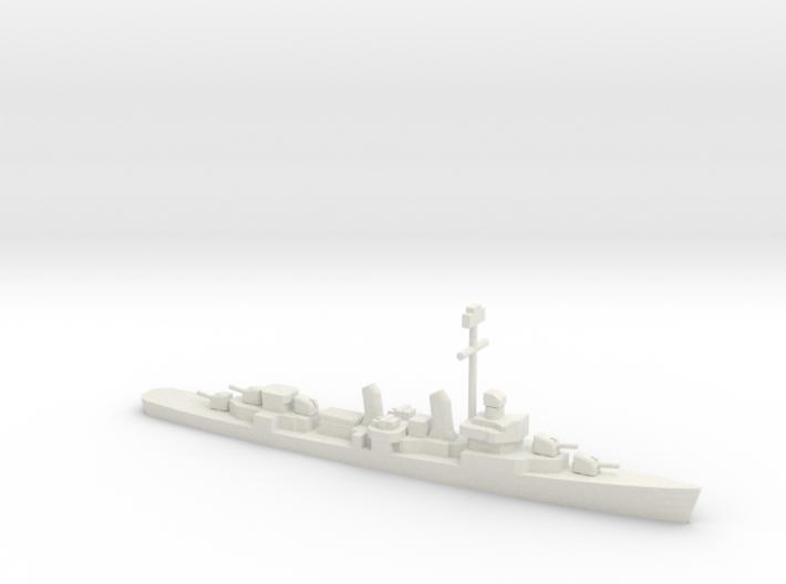 Fletcher-class destroyer (1941-1944), 1/1200 3d printed