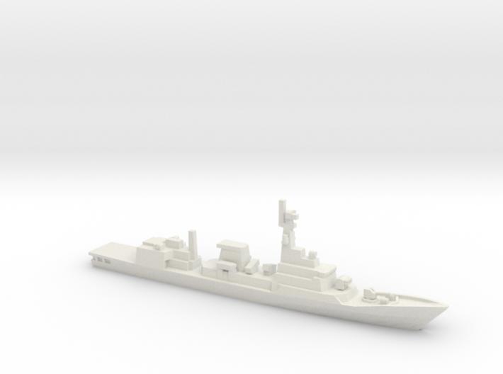 Zulfiquar-class frigate, 1/1250 3d printed