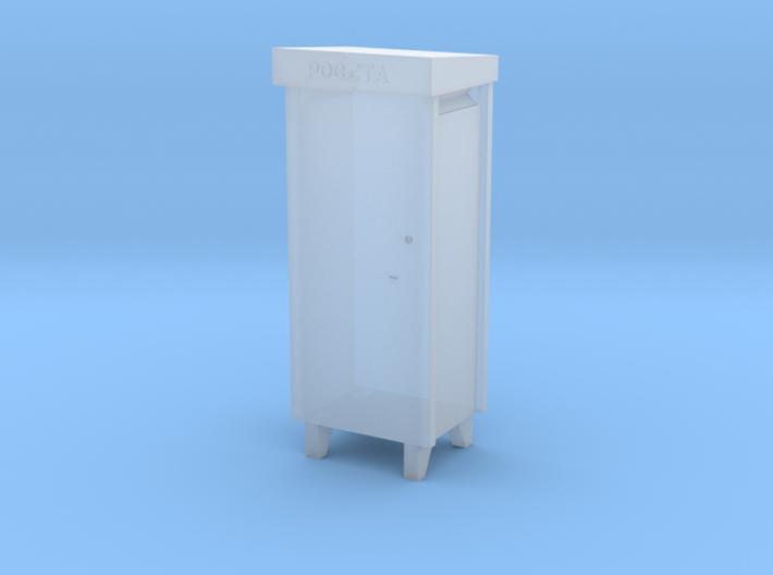 TT- Polish City Type Pillar Letter-Box 3d printed