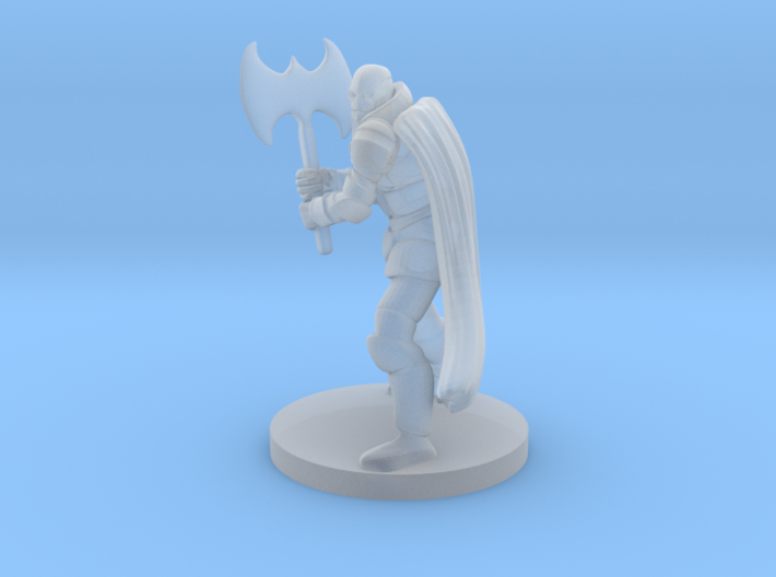 Warforged Great Weapon Fighter 3d printed