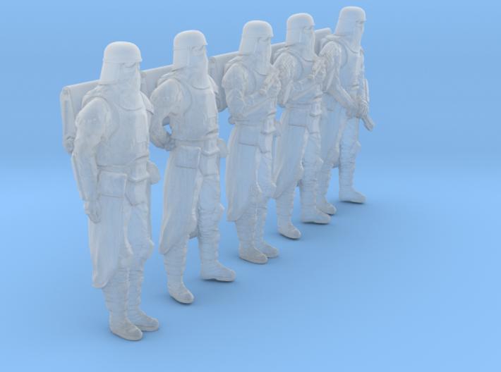1/48 Sci-Fi Sardaucar Platoon Set 101-01 3d printed