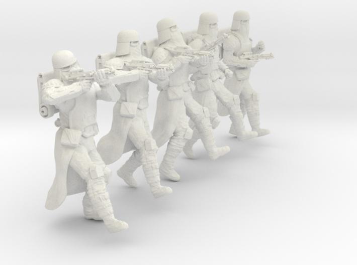 1/24 Sci-Fi Sardaucar Platoon Set 101-03 3d printed