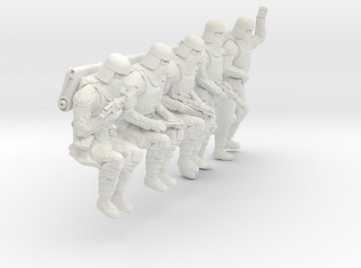 1/24 Sci-Fi Sardaucar Platoon Set 102-04 3d printed