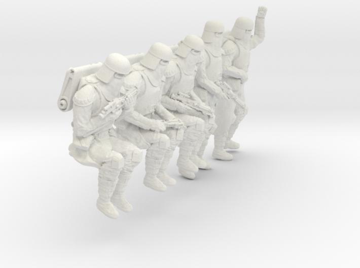 1/20 Sci-Fi Sardaucar Platoon Set 102-04 3d printed