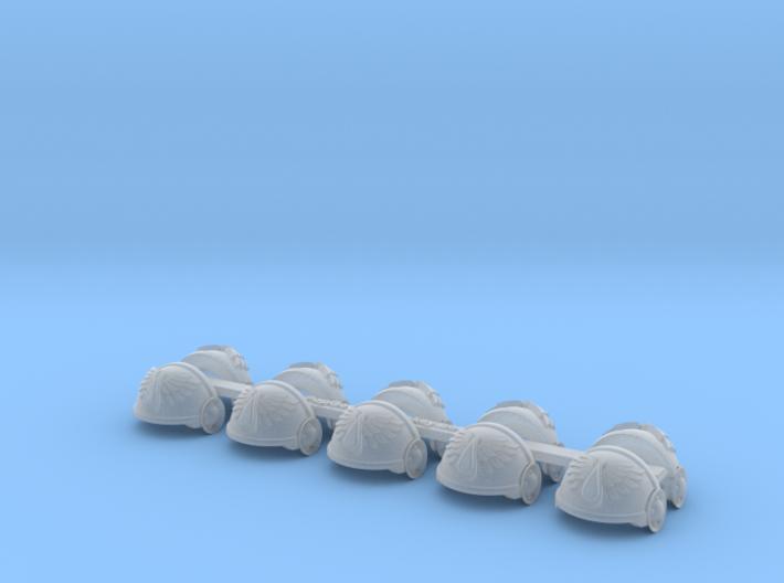 5x Angel Tears = Tartaros Shoulder Sets 3d printed