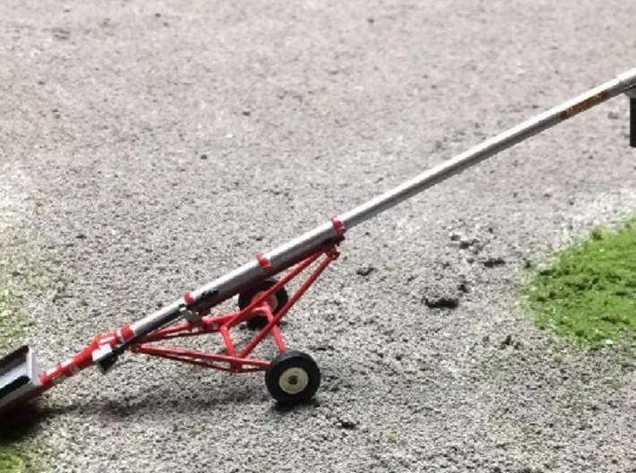 "1/64 8"" 32' Inline Drive Grain Auger, PTO 3d printed"