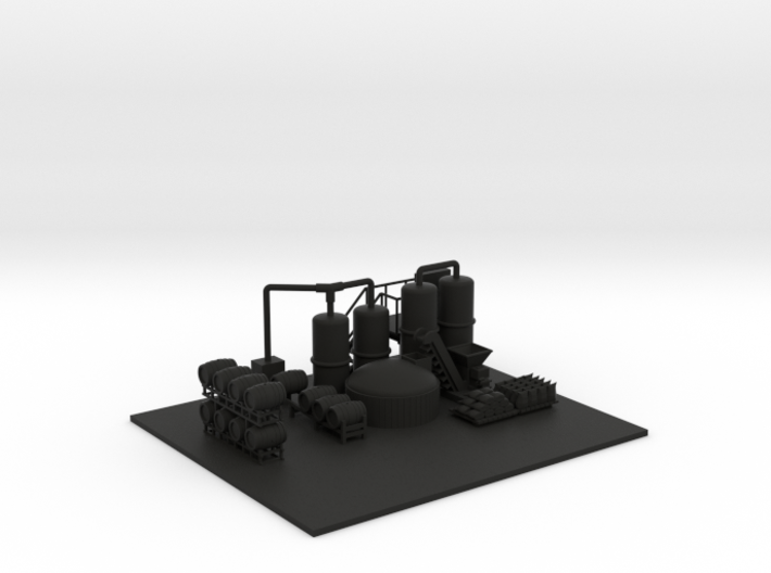 Brewery Equipment Ground Height 3d printed