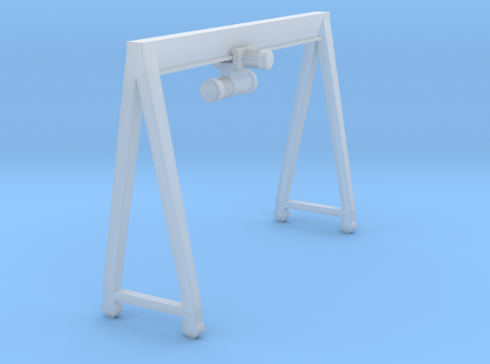 N Scale Gantry Crane H26 W38.5 3d printed