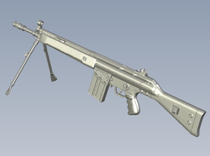 1/10 scale Heckler & Koch G-3A3 rifle B x 1 3d printed