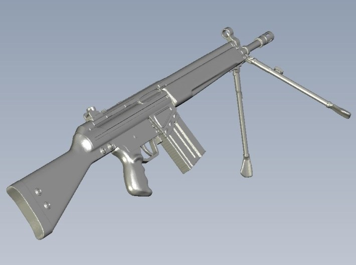 1/10 scale Heckler & Koch G-3A3 rifles B x 3 3d printed