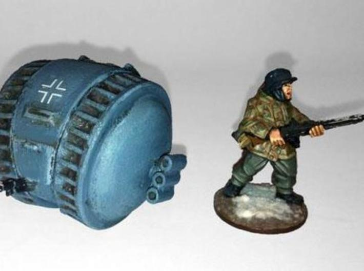 Tank- Kugelpanzer (1/56th) 3d printed