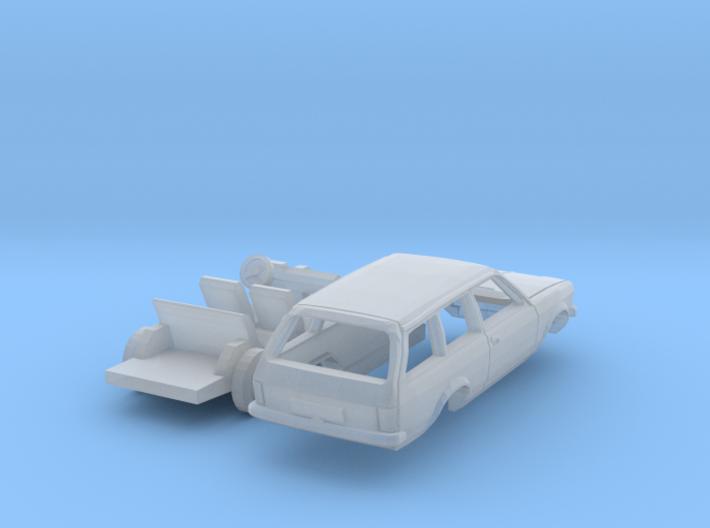 Opel Kadett Caravan (N 1:160) 3d printed
