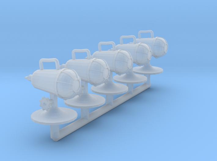 1/24 scale Circle D Light X5 3d printed