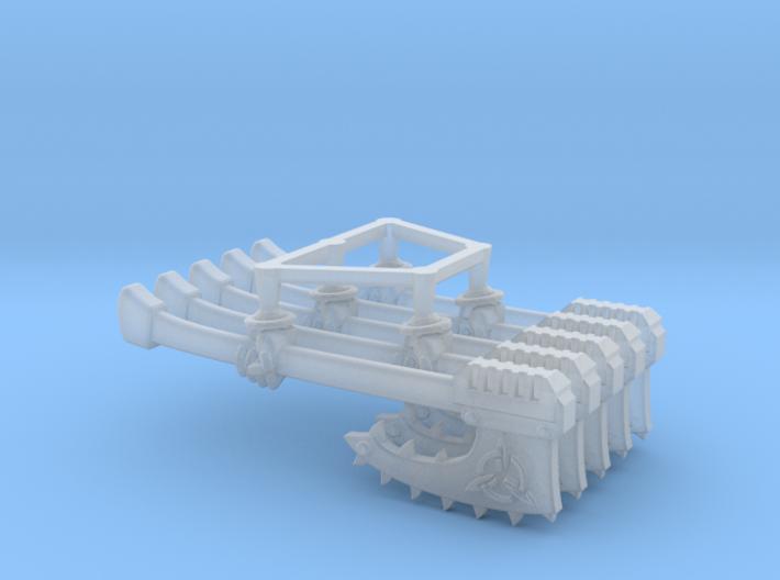 Valkiria pattern Chain-Axe (left) 3d printed