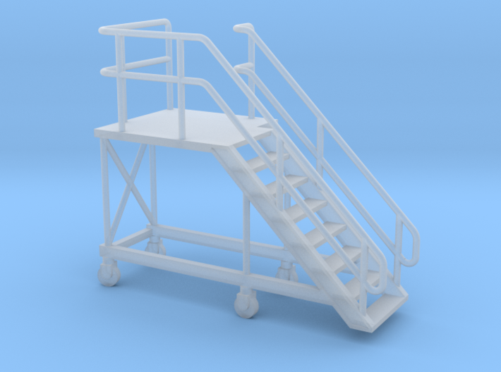 1:72 Train Access Stairs Stairs Right 3d printed