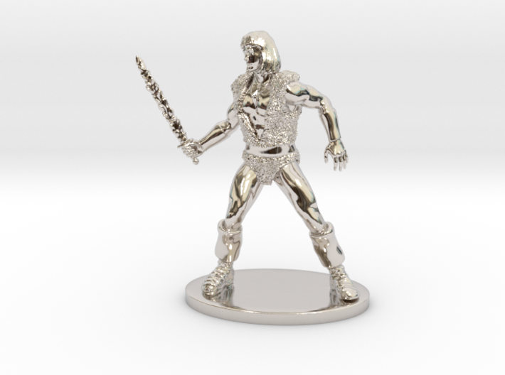 Thundarr the Barbarian Miniature 3d printed