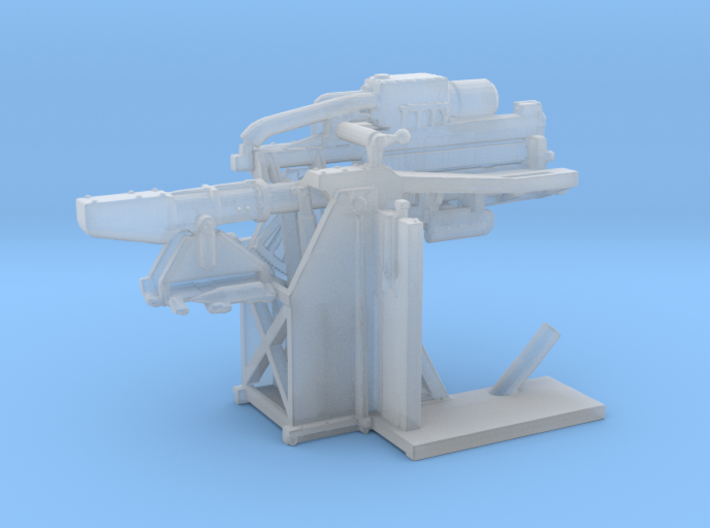 1/200 USN 5 inch Loading Machine Starboard 3d printed