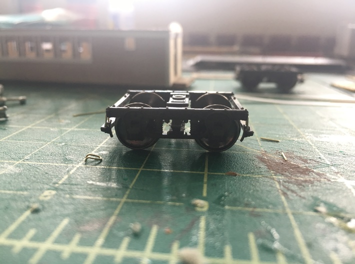 V&T Kimball Baggage Cars #1 And #2 Truck 3d printed